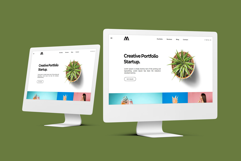 Shuvo | Startup Portfolio HTML5 Landing Page Template