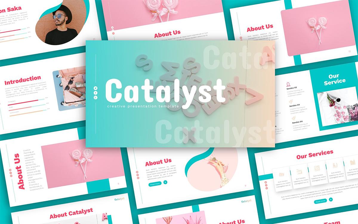 Catalyst Creative Presentation PowerPoint Template