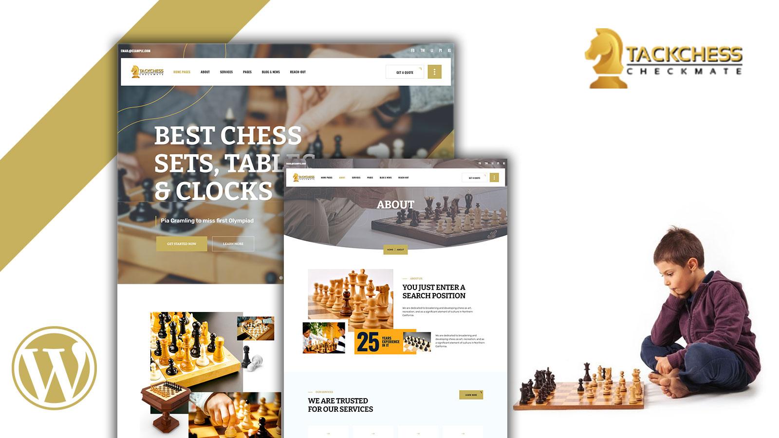 Tacchess- Chess WordPress Theme