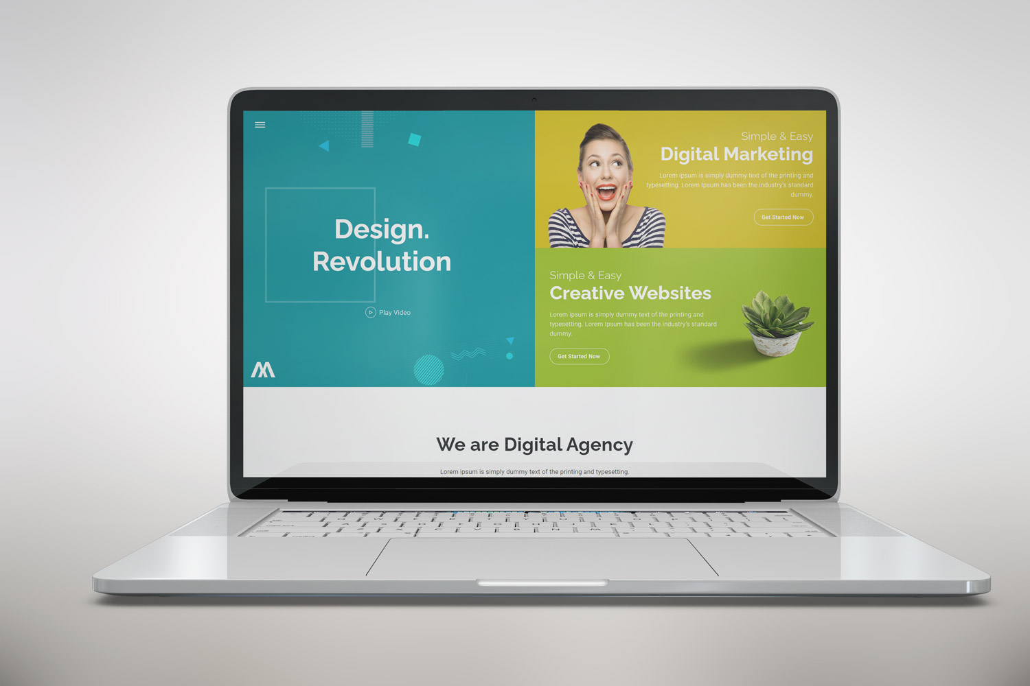 Abusayed | Design Agency HTML5 Landing Page Template