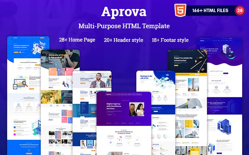 Aprova -  Multipurpose Responsive  HTML5  Website Template