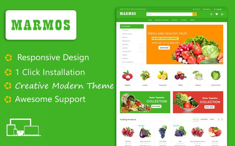 Marmos Organic Opencart Theme