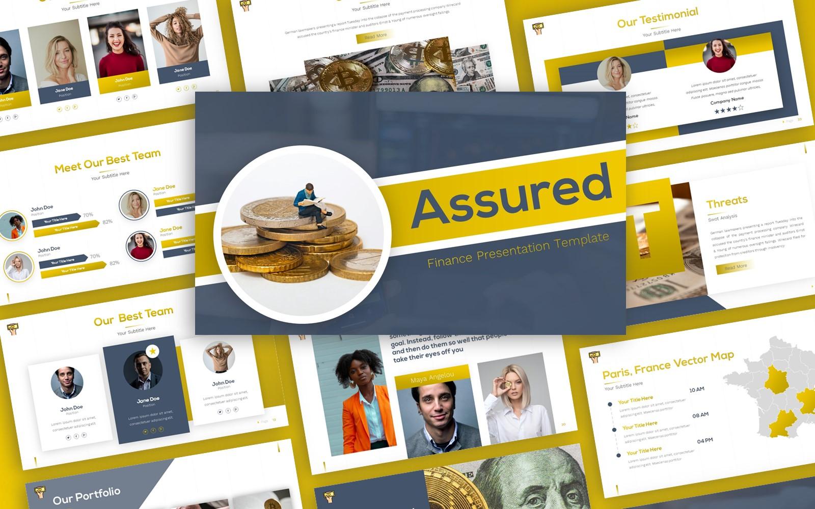 Assured - Finance Multipurpose PowerPoint Template