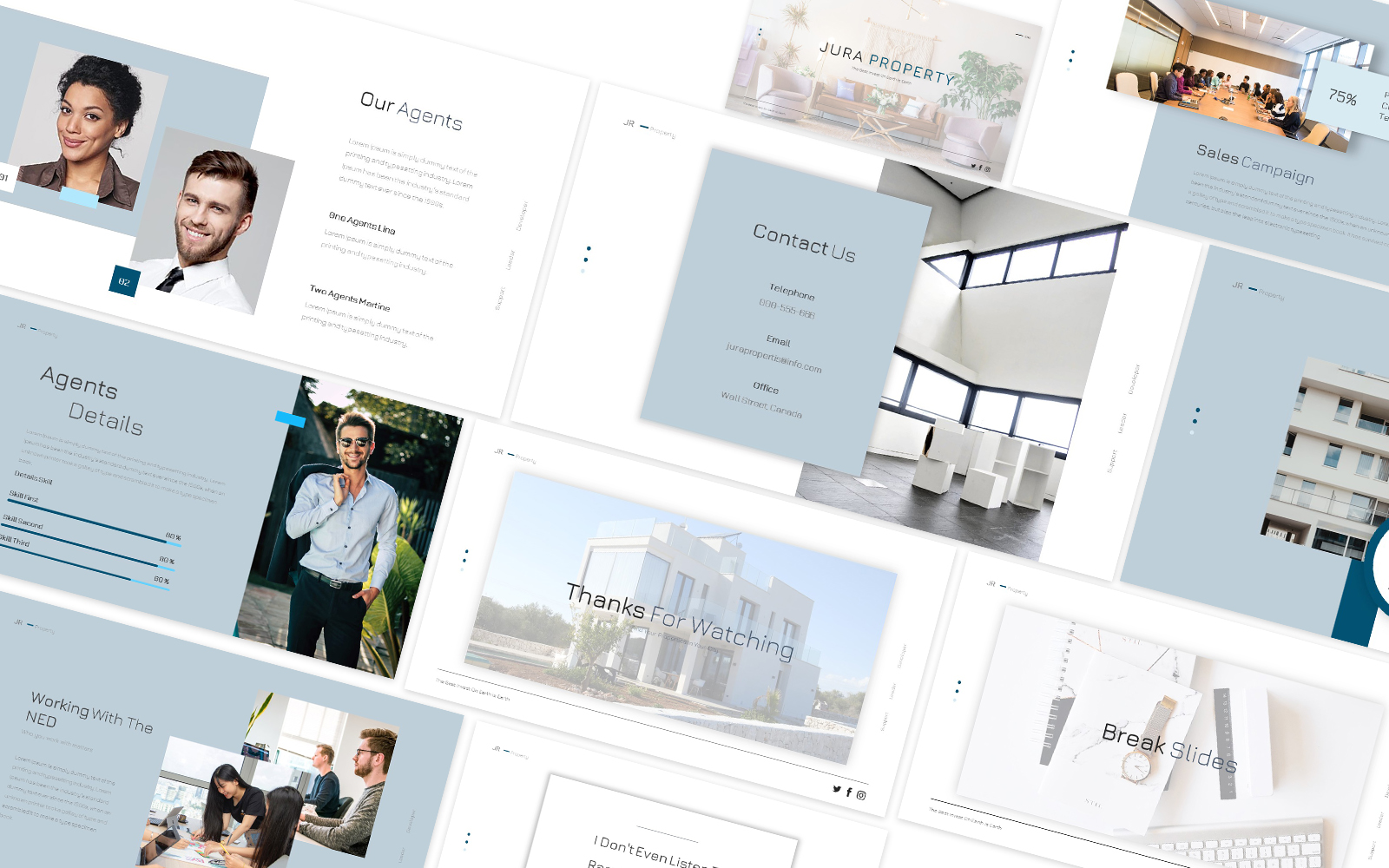 Jura Property Powerpoint Template