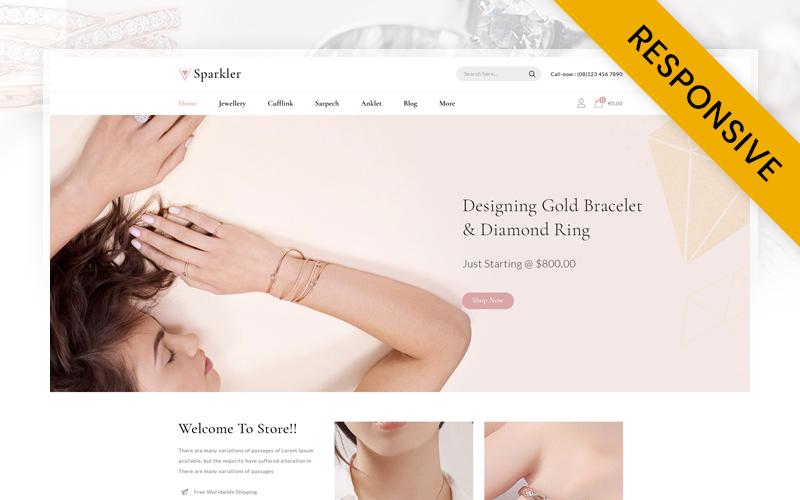 Sparkler - Jewellery Store Prestashop Responsive Theme