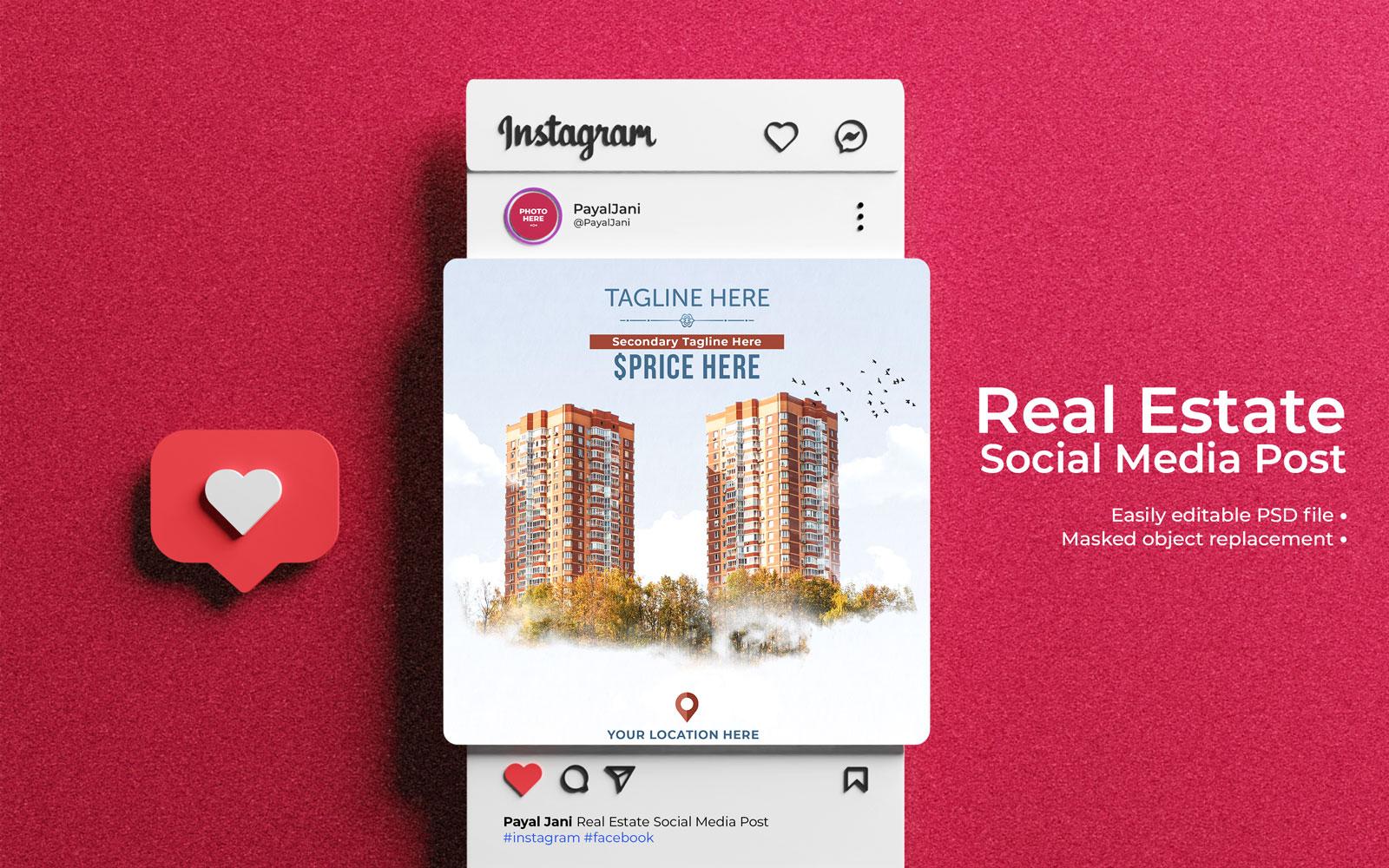 社群媒體擴展設計模板