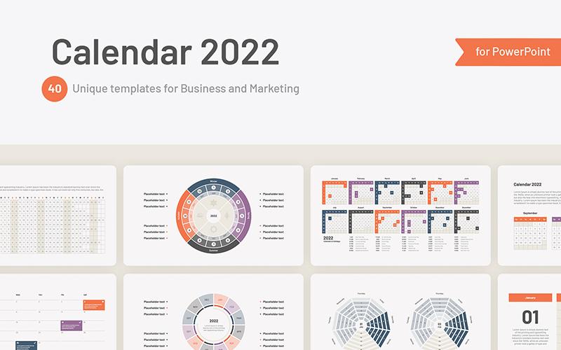 Calendar 2022 Templates For PowerPoint