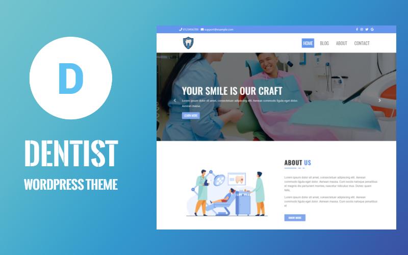 Dental Clinic - Dentist & Medical WordPress Theme