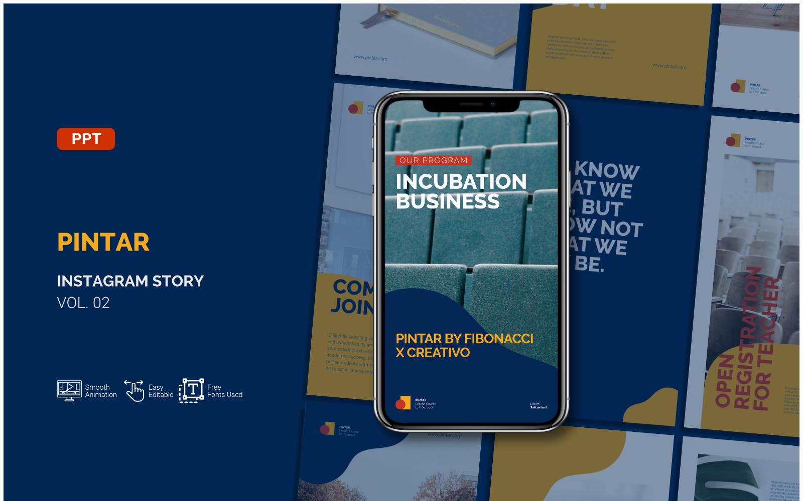 Pintar - Business Instagram Story - Powerpoint Template