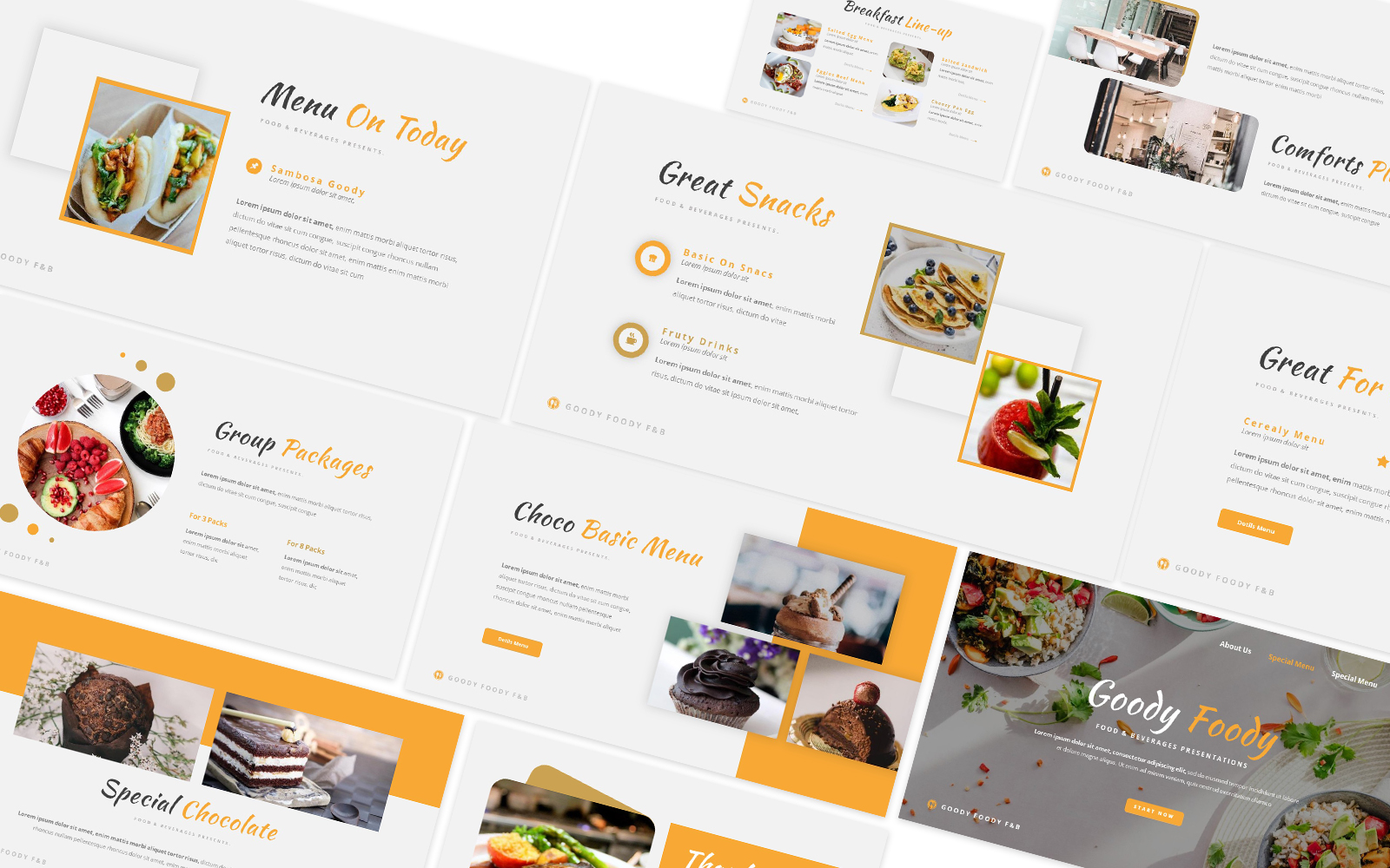 Goody Foody Powerpoint Template