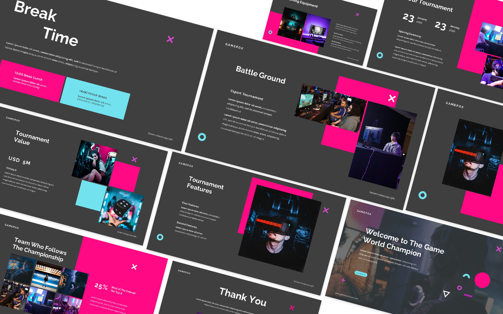 Gamers Powerpoint Template