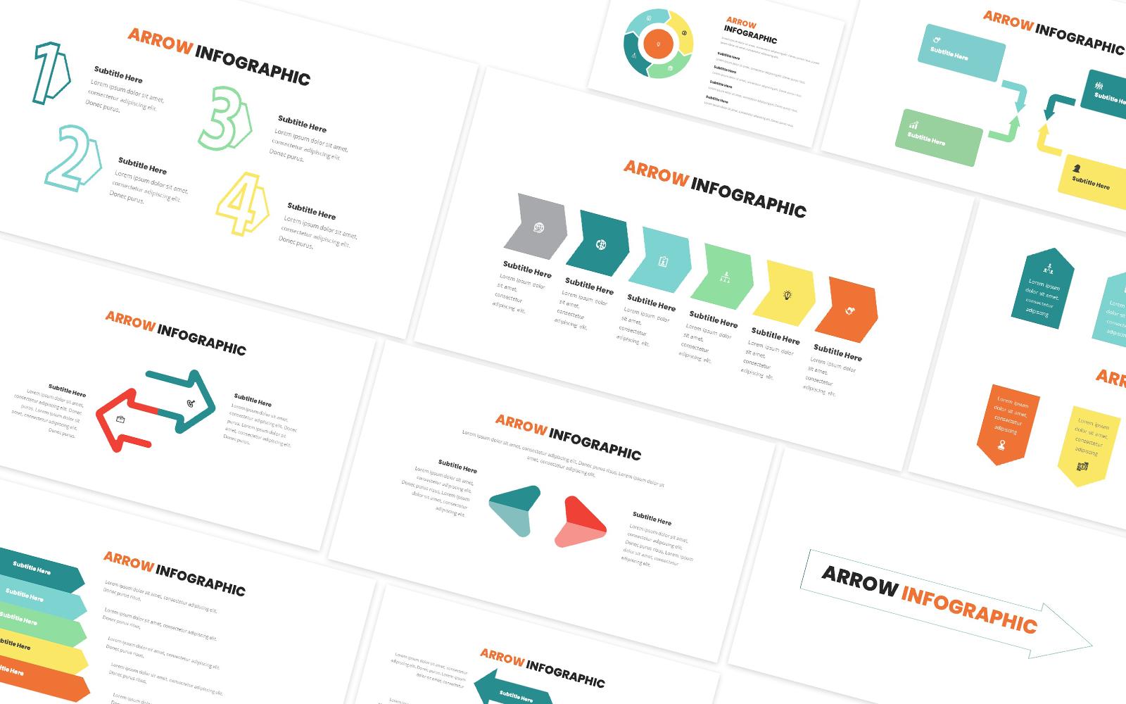 Arrow Infographic Powerpoint