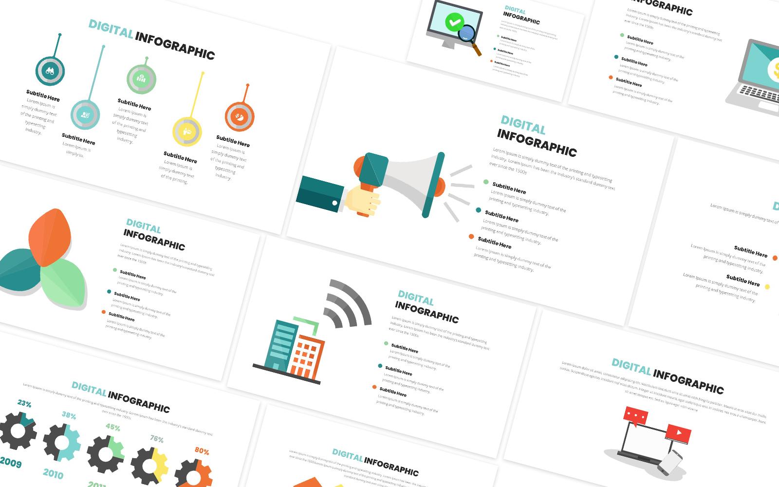 Digital Infographic Powerpoint