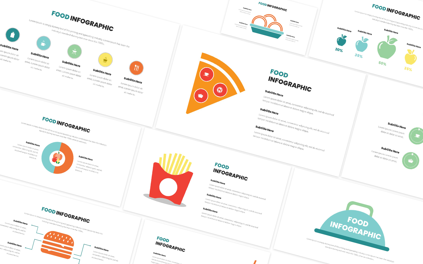 Food Infographic Powerpoint