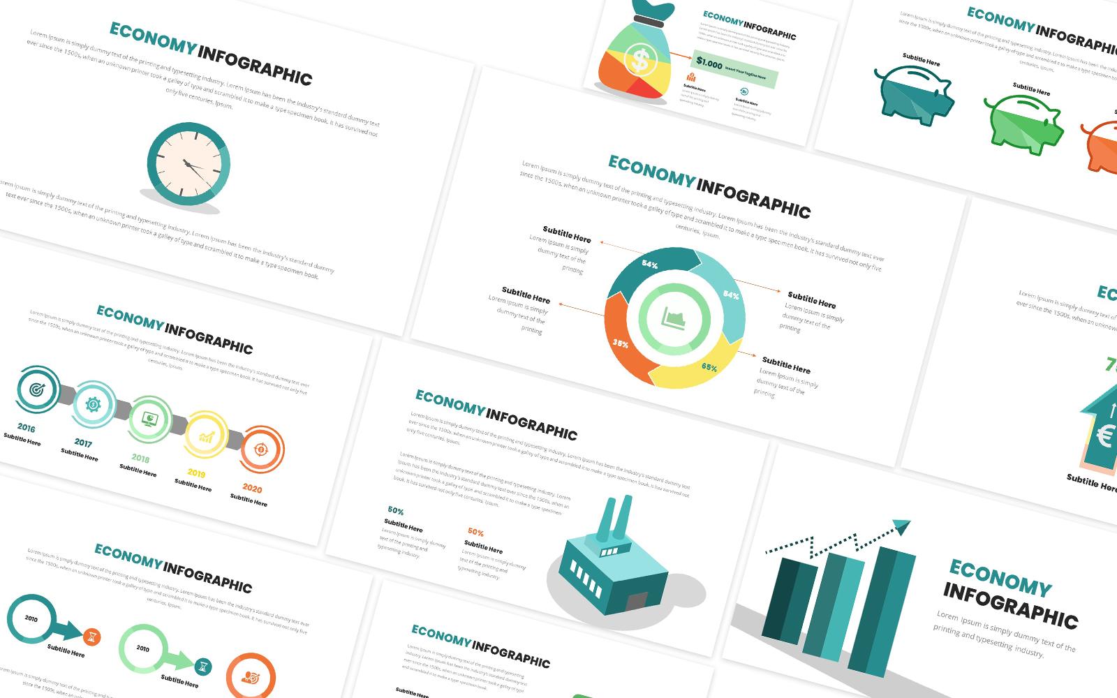 Economy Infographic Powerpoint