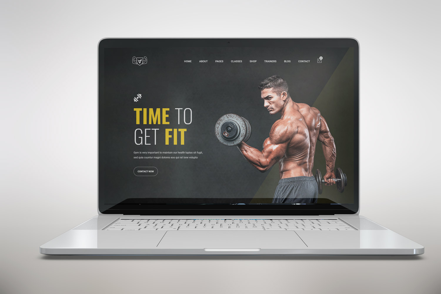Shuvo - Gym & Fitness Centre Bootstrap 5 Website template