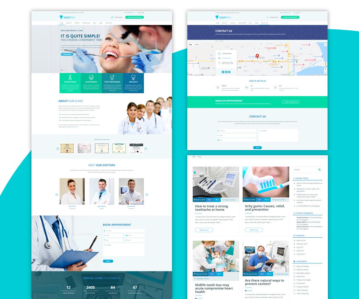 DentPro - Modern Medical WordPress theme