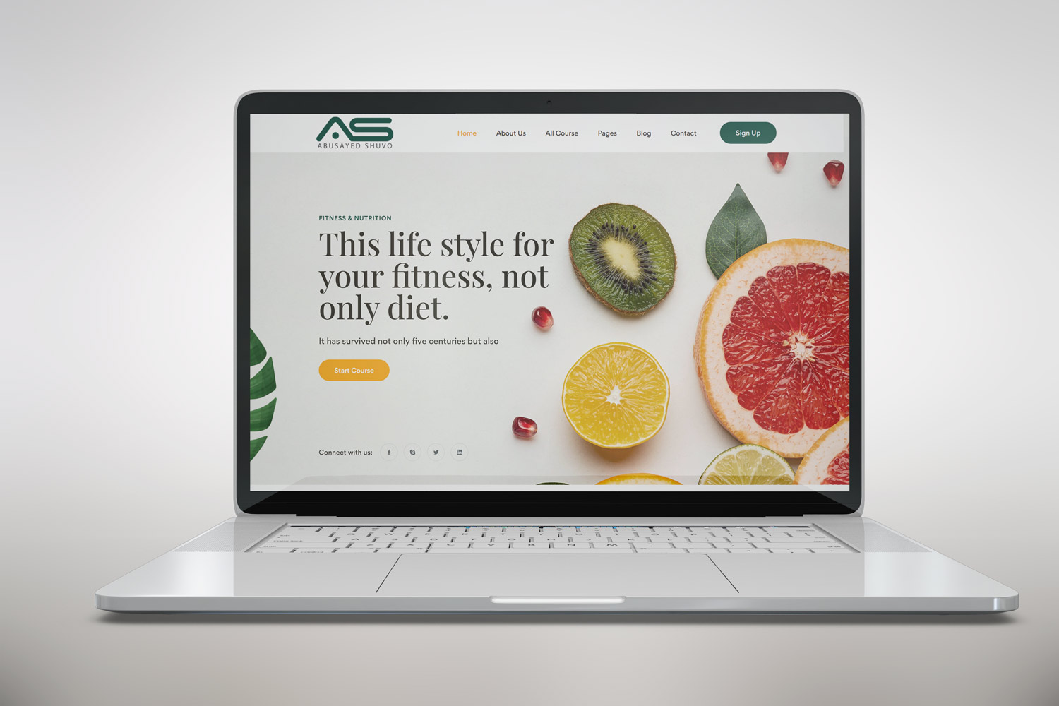 Shuvo | Fitness and Nutrition Bootstrap 5 Template
