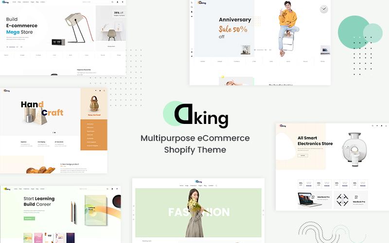 Dking- Multipurpose eCommerce Shopify Theme