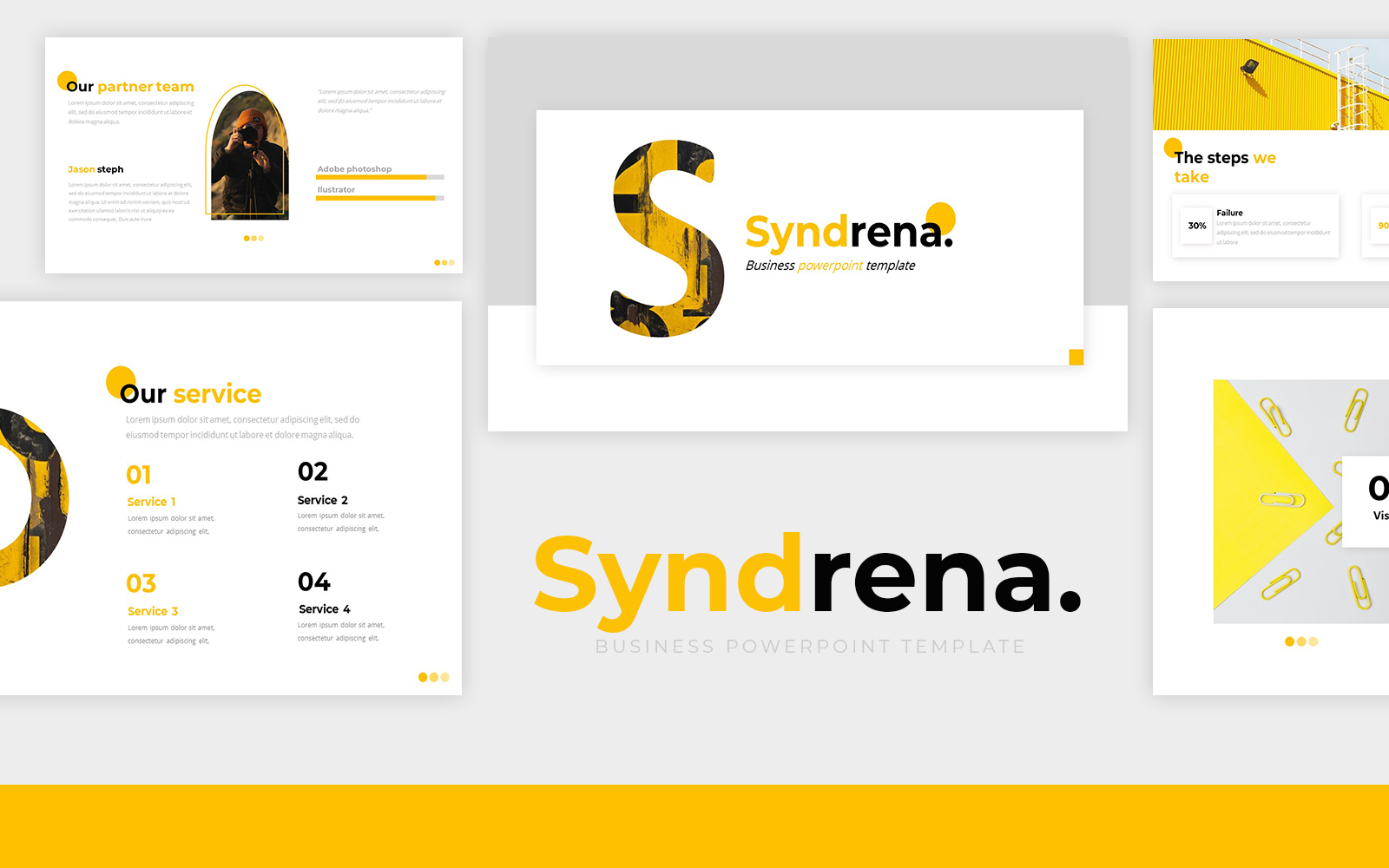 Syndrena Powerpoint Template