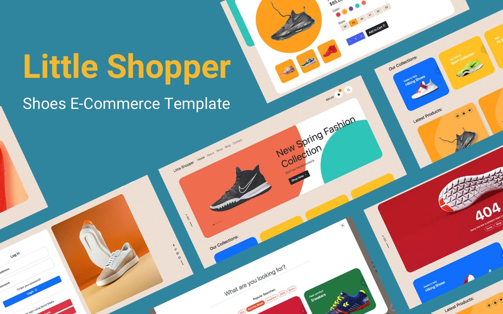 Little Shopper | HTML5 E-Commerce Website template