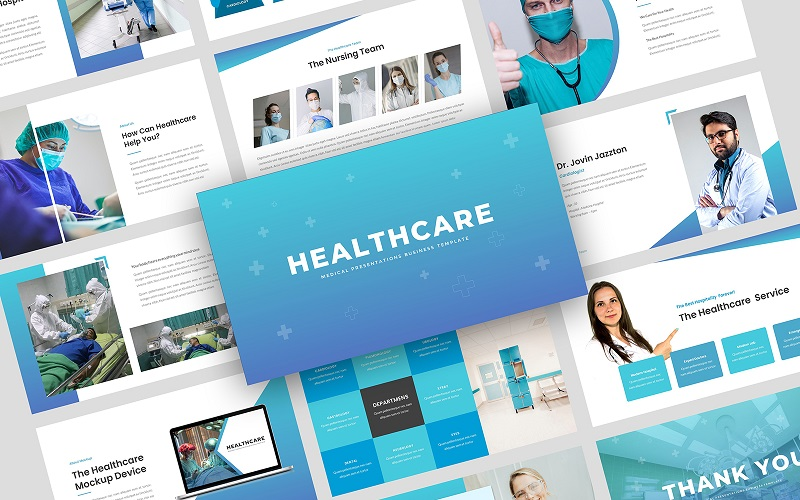 Healthcare - Medical Presentation Business PowerPoint Template