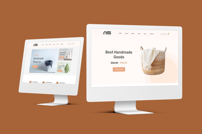 Shamima - Handmade Goods eCommerce HTML Template