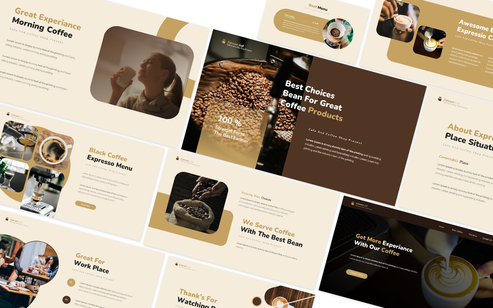 Expressio Powerpoint Template