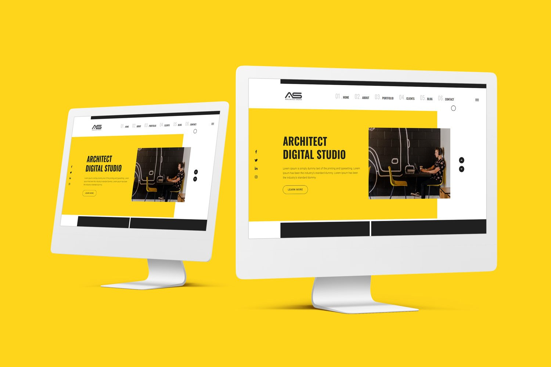 Ela | Architect Studio HTML5 Landing Page Template