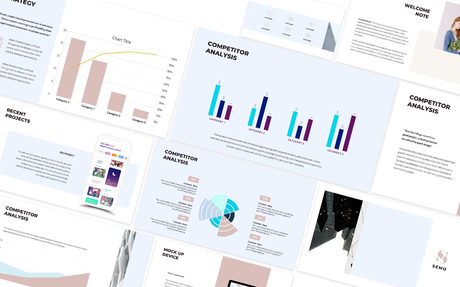 Semu Company Powerpoint Template