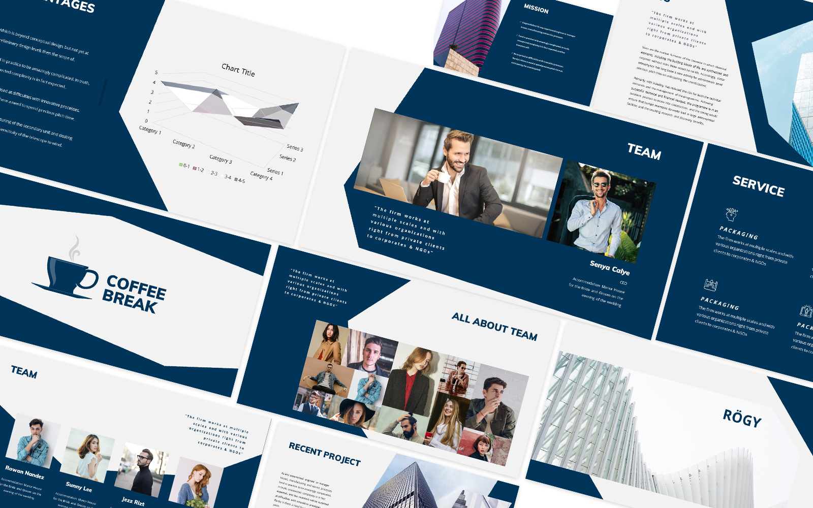 Rogy Business Powerpoint Template