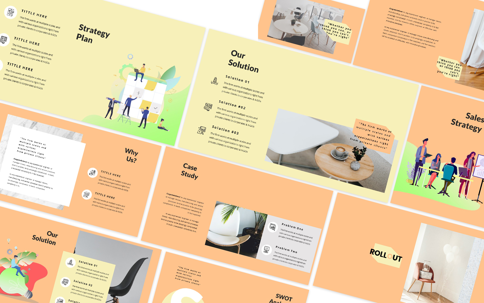 Rollout Powerpoint Template