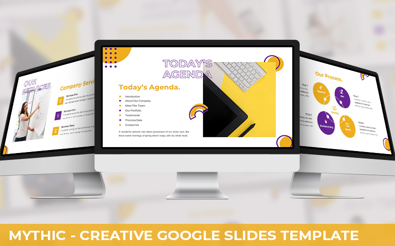 Mythic - Creative Powerpoint Template