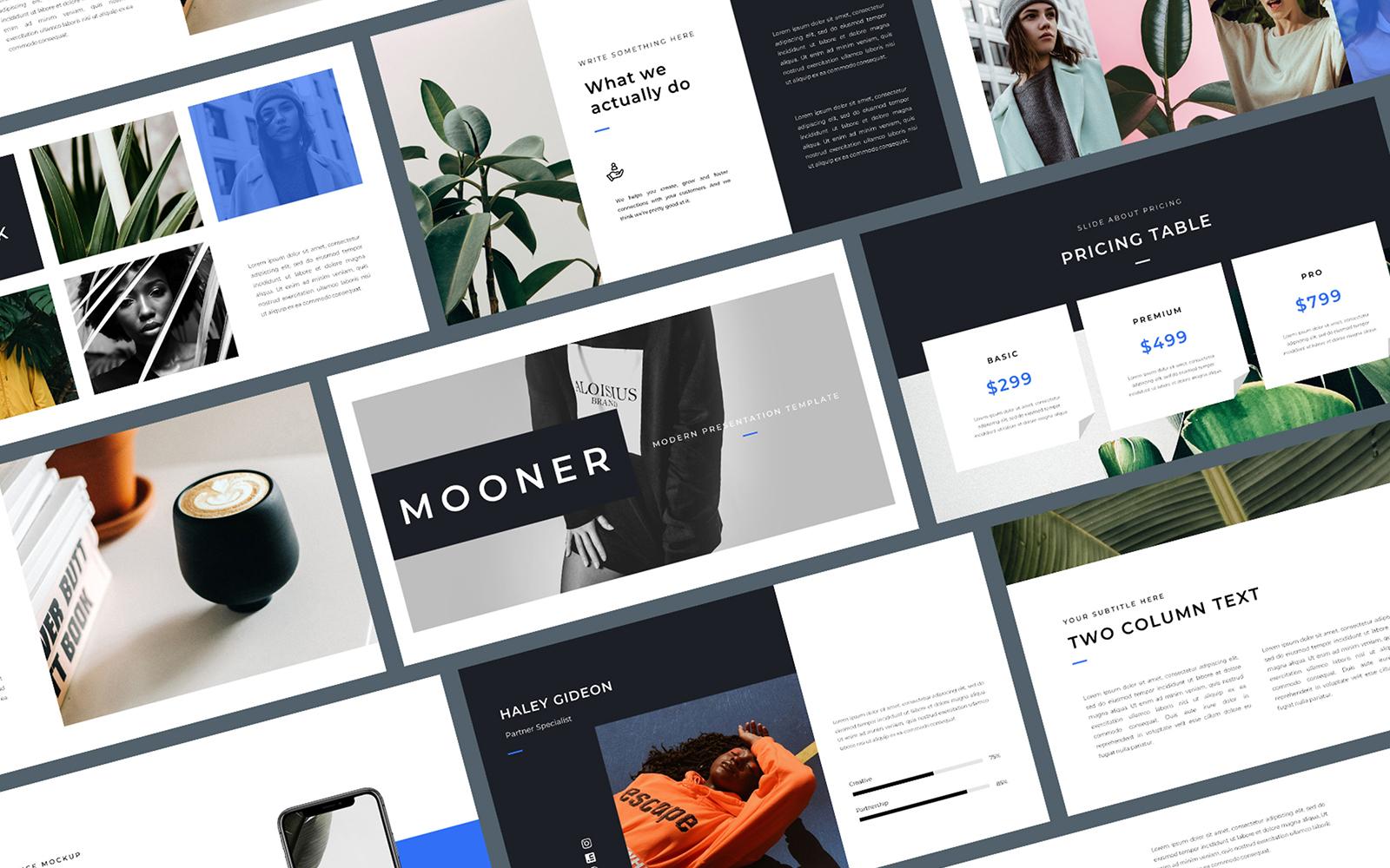 Mooner PowerPoint Template