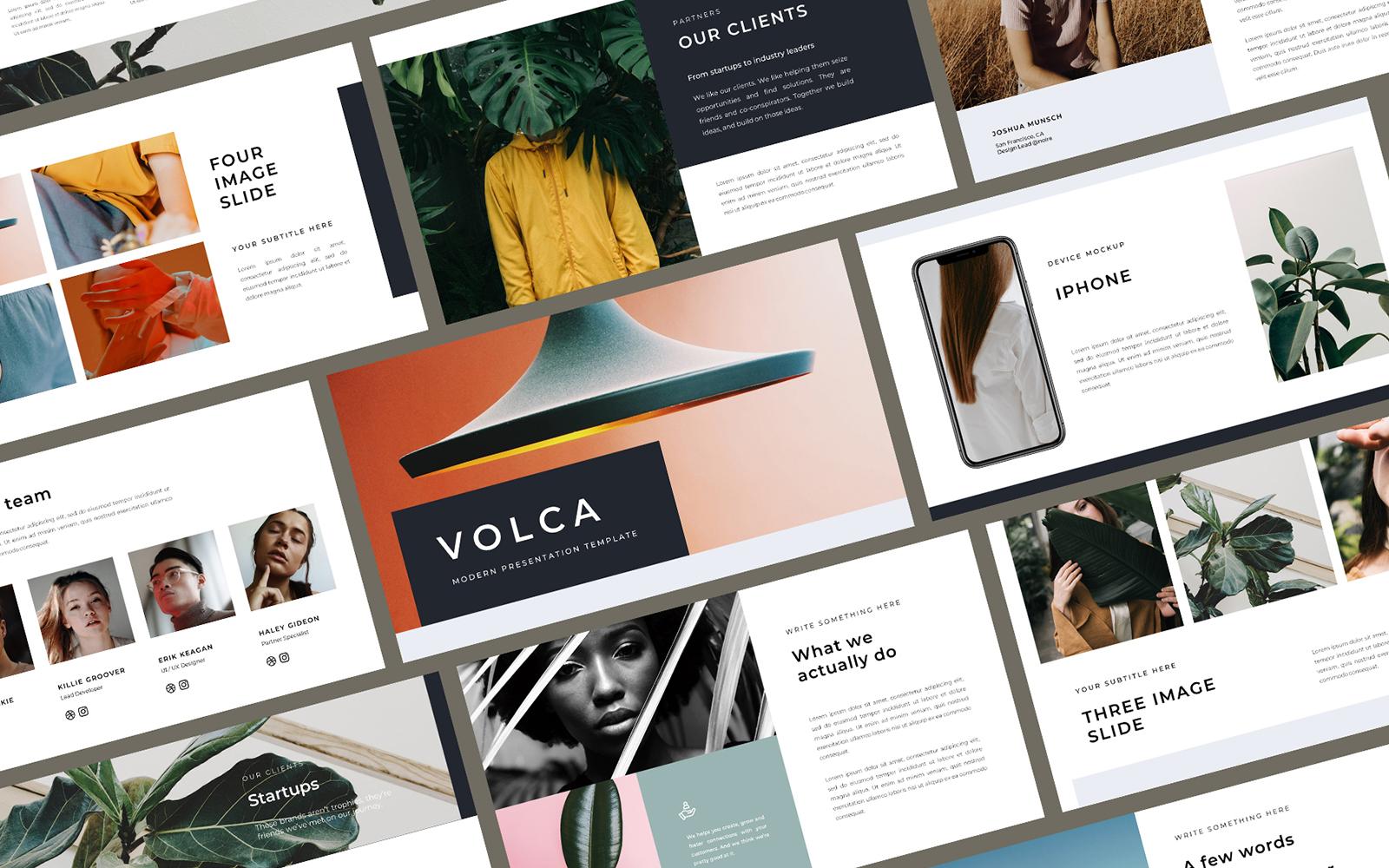 Volca PowerPoint Template
