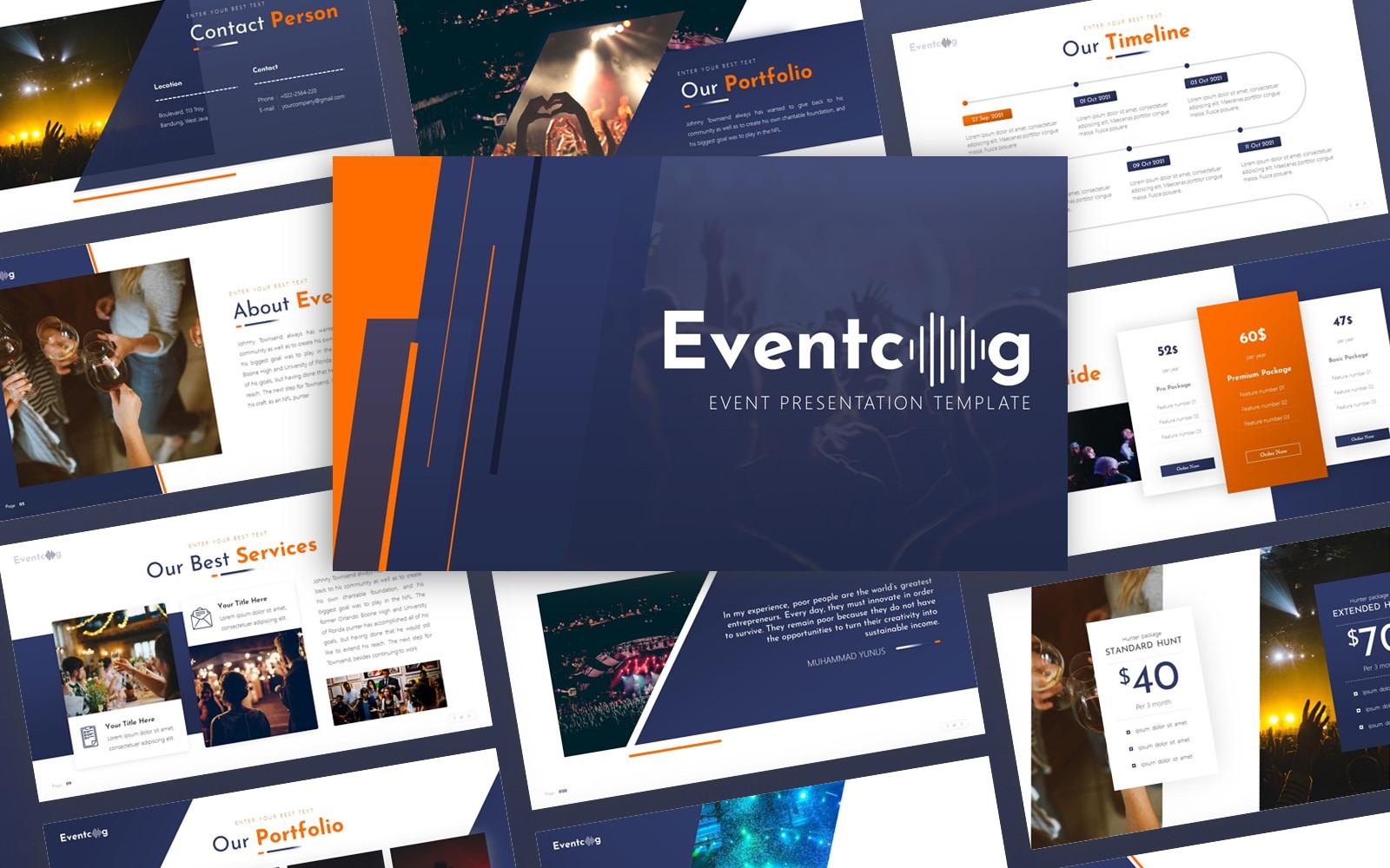 Eventcog - Event  Multipurpose PowerPoint Template
