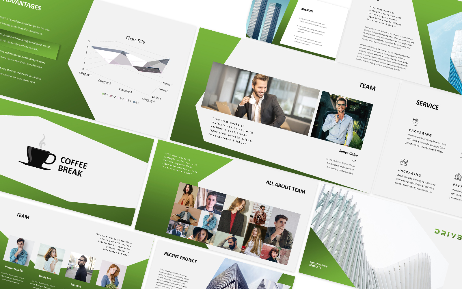 Drivby Powerpoint Template