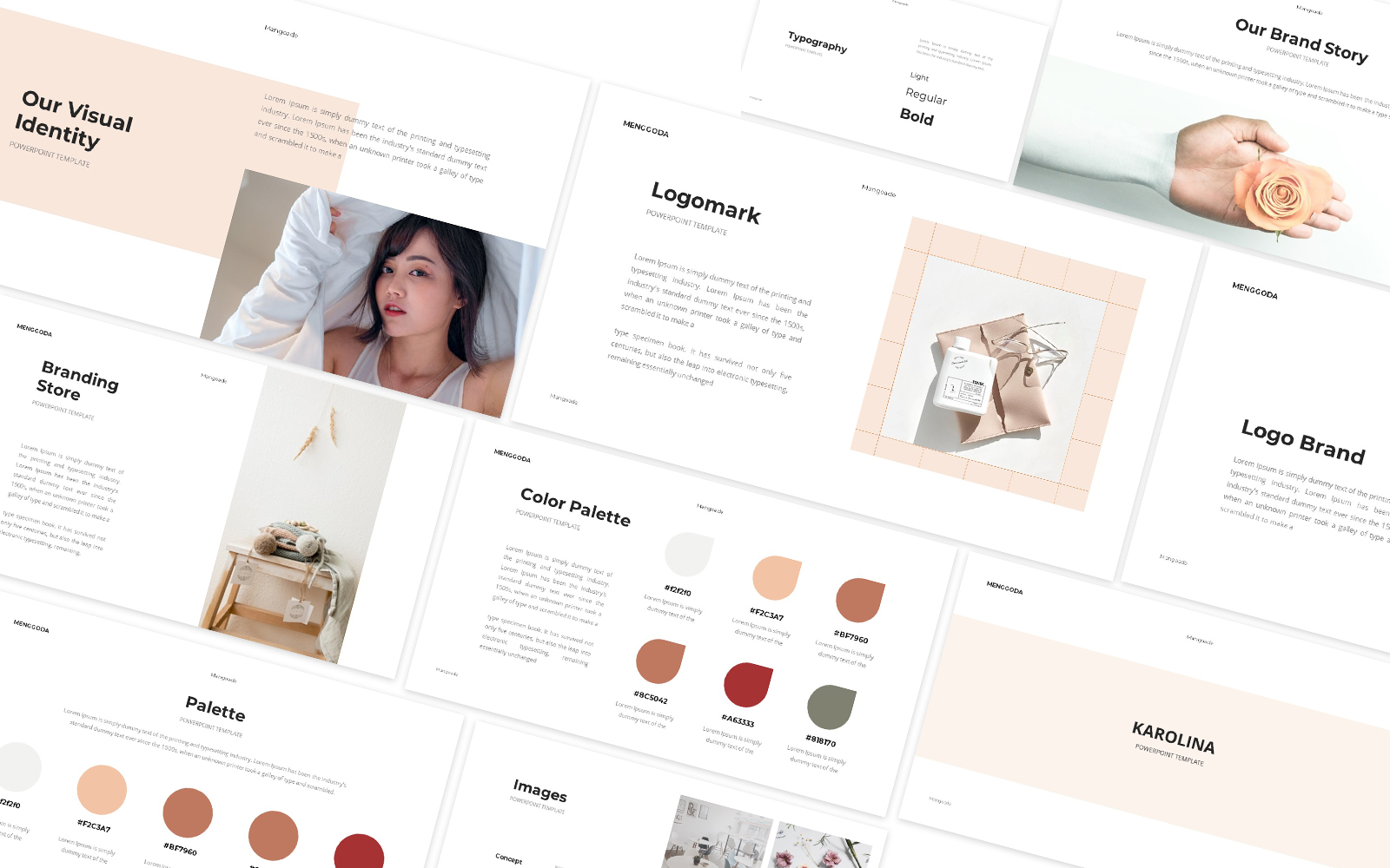 Branding Guideline Powerpoint Template