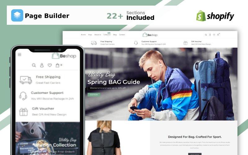 BeShop Bag Store Shopify Theme