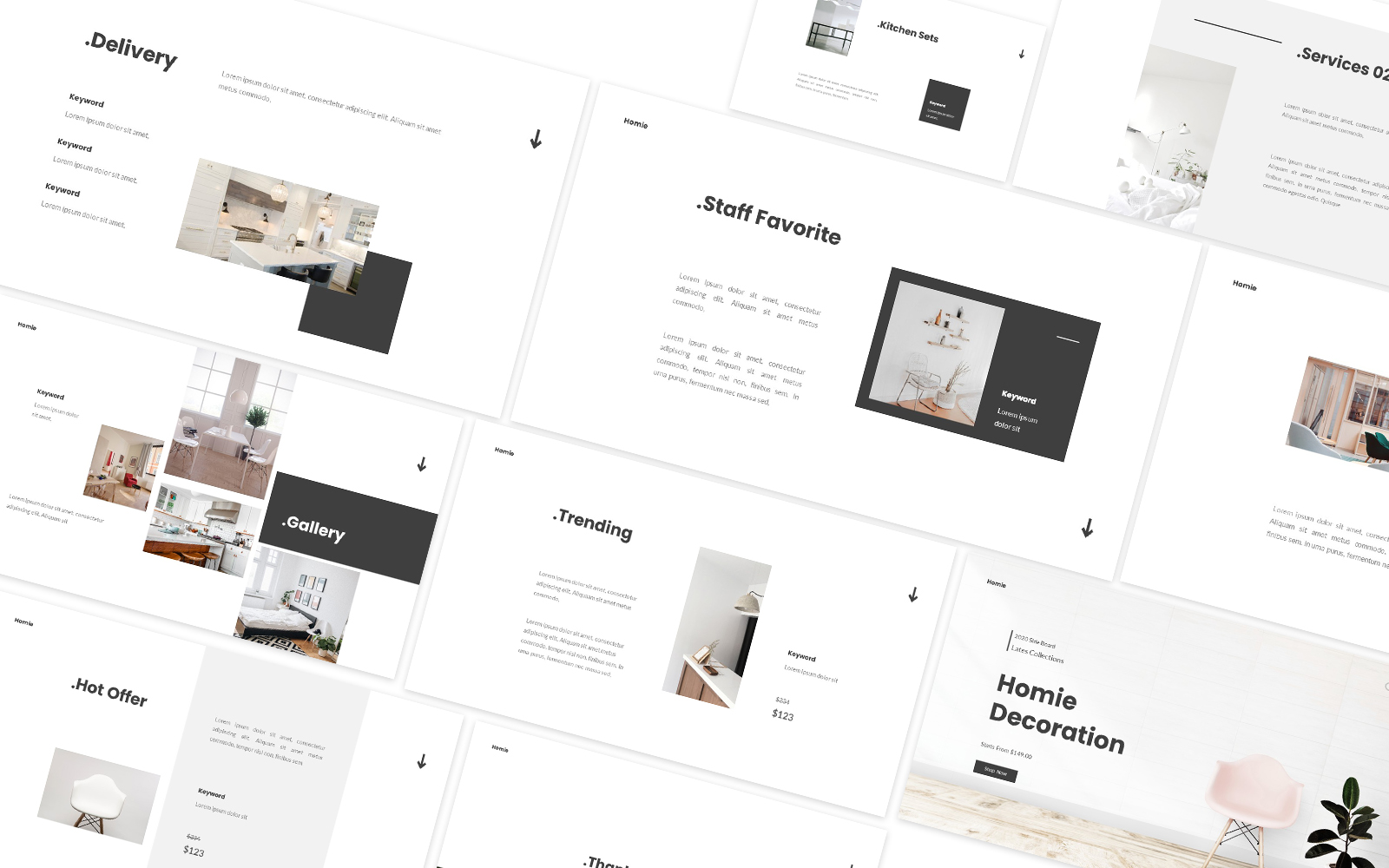 Home Decoration Powerpoint Template