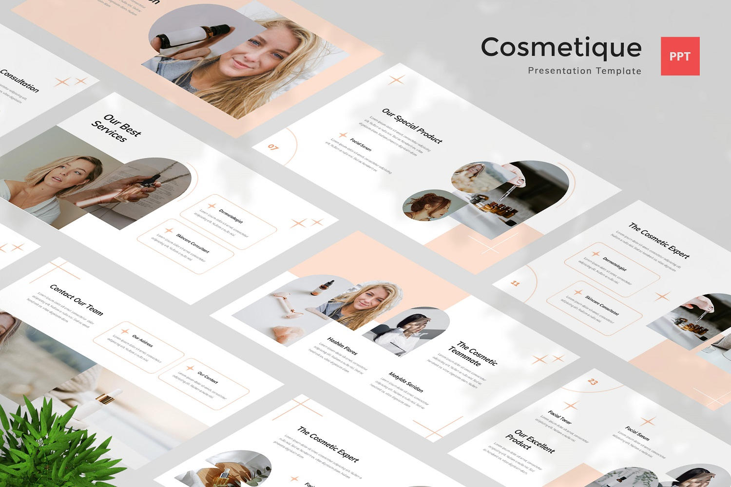 Cosmetique - Cosmetic Powerpoint Template
