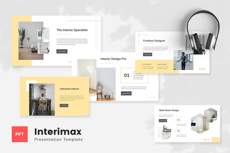 Interimax - Interior Powerpoint Template