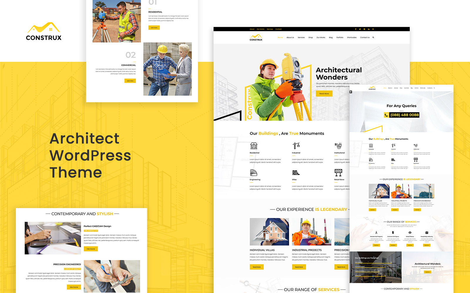 Construx – WordPress Construction Theme
