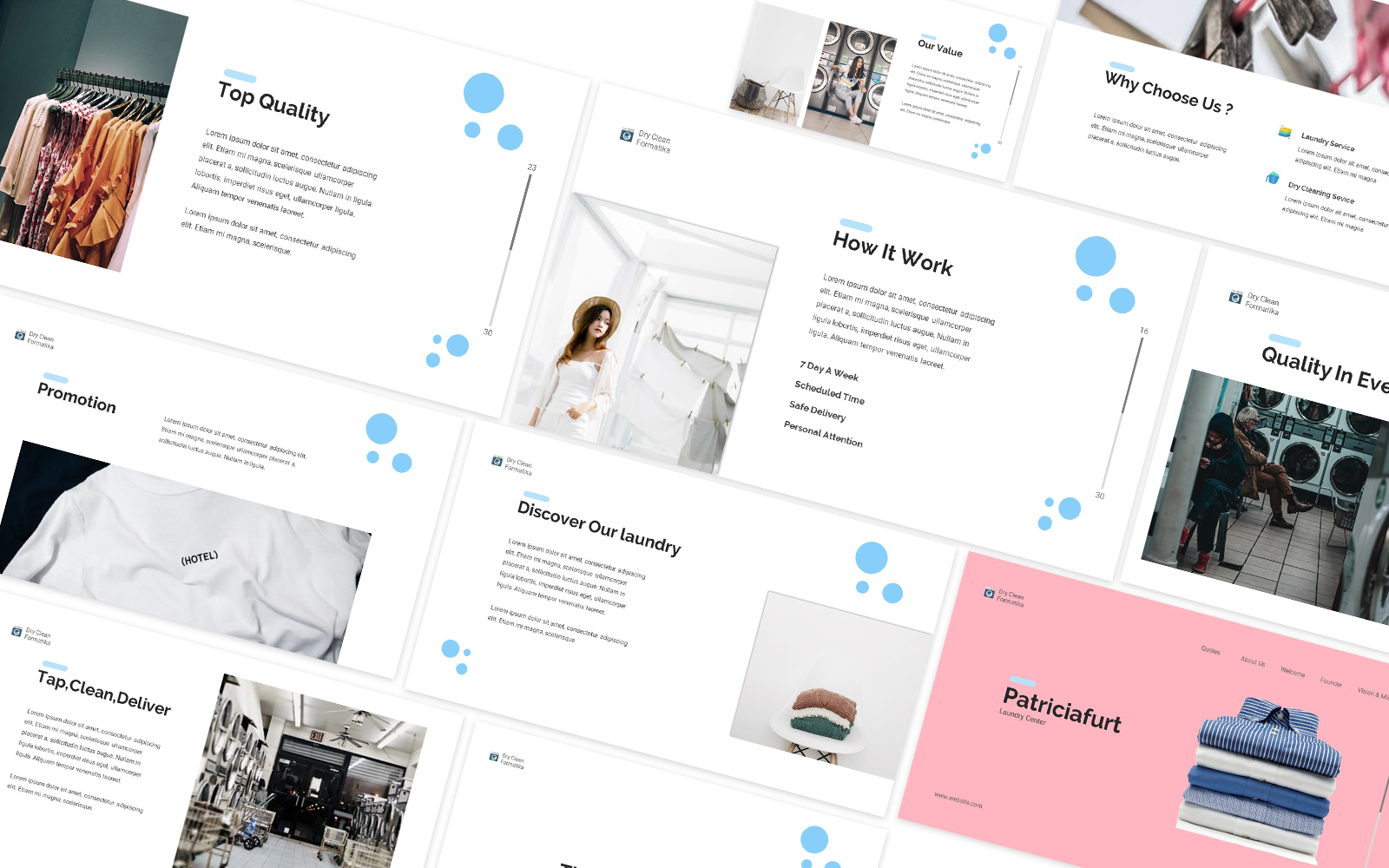 Laundry Powerpoint Template