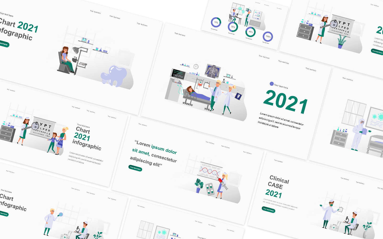 Medical Illustration Powerpoint Template