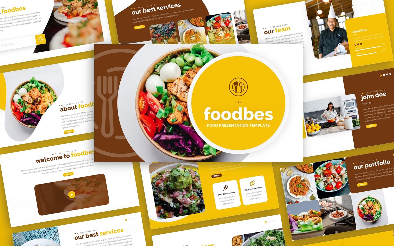 Foodbes - Food Multipurpose PowerPoint Template
