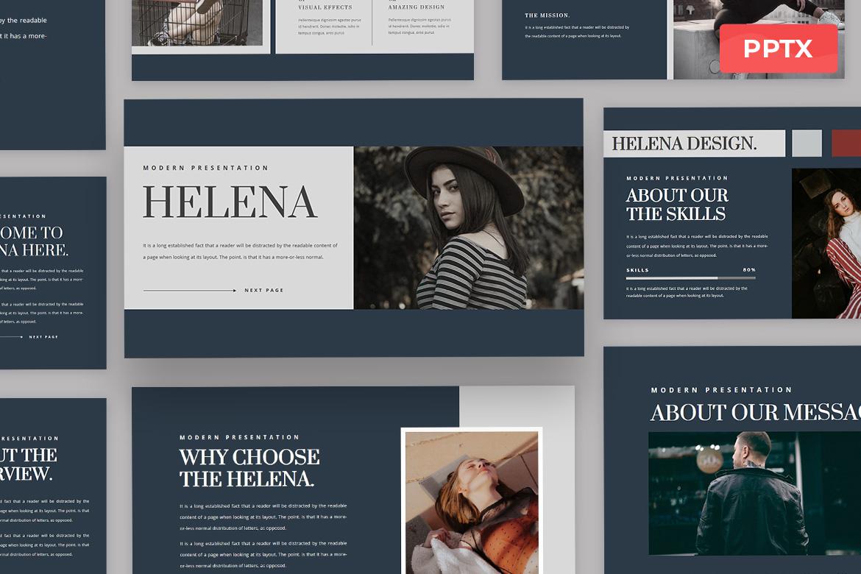 Helena - Powerpoint Presentation Template
