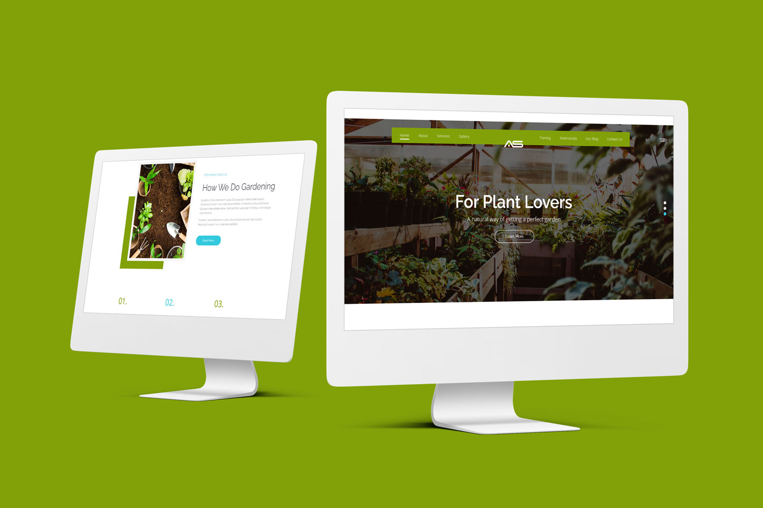 Jerry | Gardening HTML5 Landing Page Template