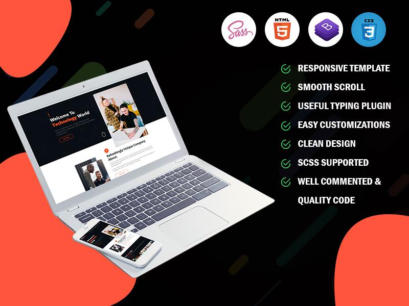 Nextgen -  IT Solutions & Business Landing Page Template