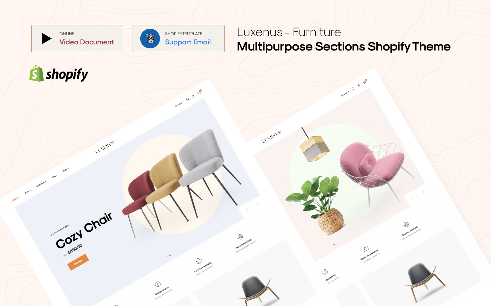 Luxenus - Multipurpose Sections Shopify Theme
